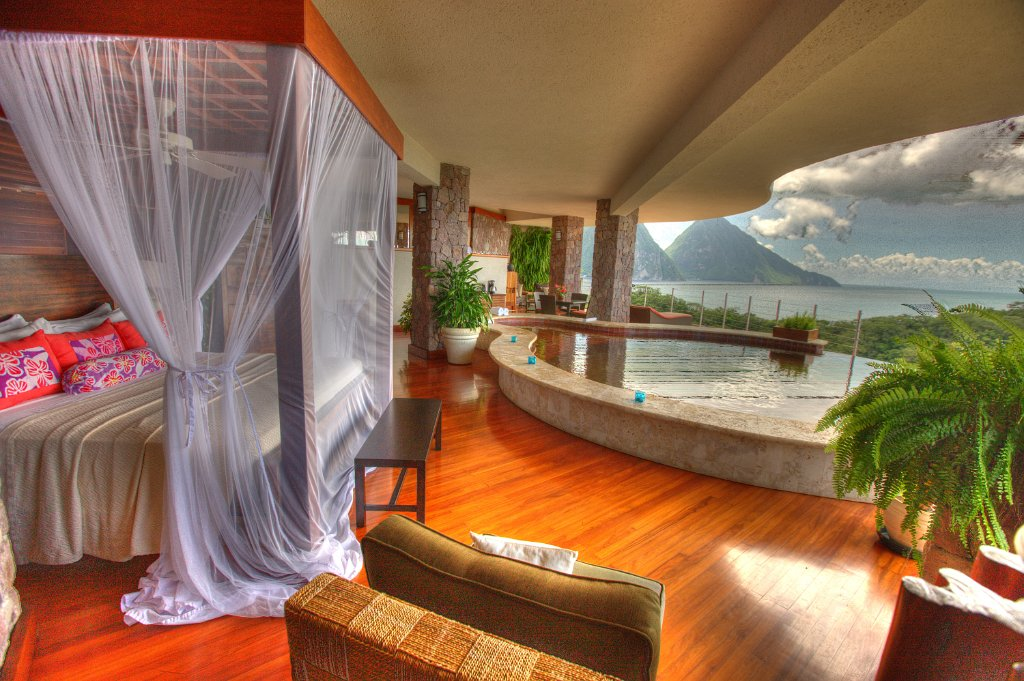 Jade Mountain Resort, Saint Lucia