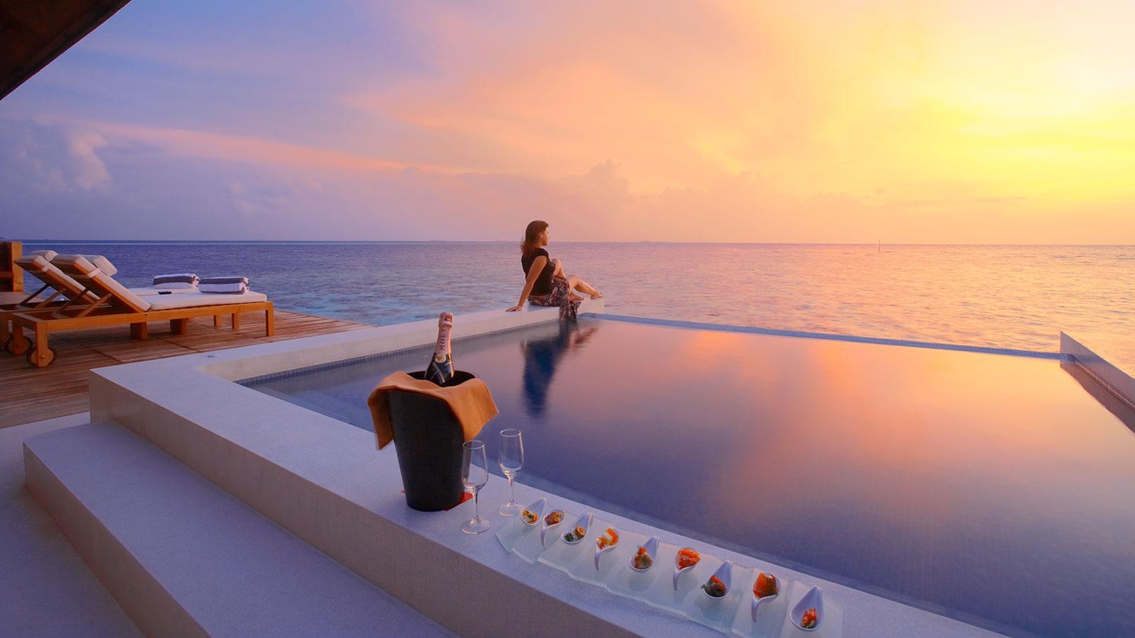 Malediwy Najlepsze hotele  Lily Beach by Chilli Travel