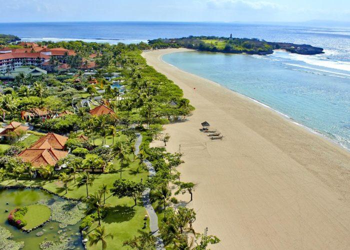Najpiękniejsze plaże na Bali Grand Hyatt Bali