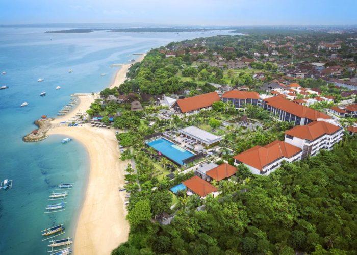 Najpiękniejsze plaże na Bali Fairmont Sanur Beach